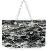 Turbulent Water Near The Shore Weekender Tote Bag