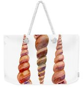 Turetella Shells Weekender Tote Bag
