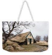 Turf Church At Hof In Iceland Weekender Tote Bag