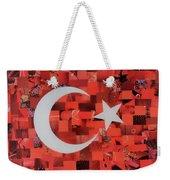 Turkey Flag Weekender Tote Bag