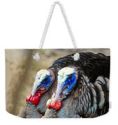 Turkey Prowl Closeup Weekender Tote Bag