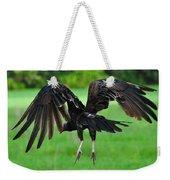 Turkey Vulture In Flight Weekender Tote Bag