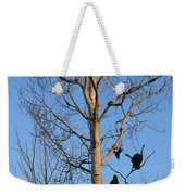 Turkey Vulture Tree Weekender Tote Bag