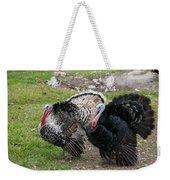 Turkeys In The Yard At Laguna Guerrero Weekender Tote Bag