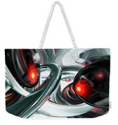Turmoil Abstract Weekender Tote Bag