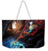 Turn The Light On Weekender Tote Bag by Steve Griffith