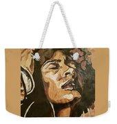Turn Up The Quiet Weekender Tote Bag