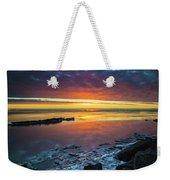 Turnagain Arm Sunset Weekender Tote Bag