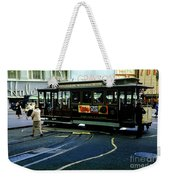 Turnaround At Powell And Mason Streets, April 6 1961 Weekender Tote Bag