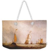 turner helvoetsluys the city of utrecht 64 going to sea 1832 Joseph Mallord William Turner Weekender Tote Bag