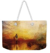 Turner Joseph Mallord William The Exile And The Snail Joseph Mallord William Turner Weekender Tote Bag