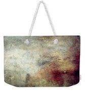 Turner: Sun Setting, C1840 Weekender Tote Bag