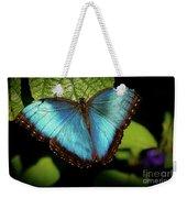 Turquoise Beauty Weekender Tote Bag