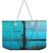 Turquoise Doors Weekender Tote Bag