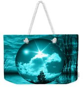 Turquoise Dreams Weekender Tote Bag