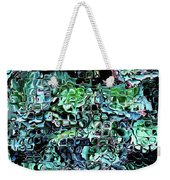 Turquoise Garden Of Glass Weekender Tote Bag