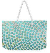 turquoise meets green P2 Weekender Tote Bag
