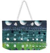 Turquoise Moons Weekender Tote Bag