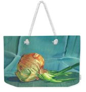 Turquoise Onion Weekender Tote Bag