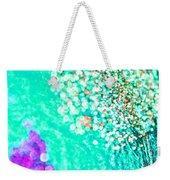 Turquoise Spell Weekender Tote Bag