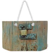 Turquoise Turning Pink Weekender Tote Bag