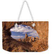 Turret Arch And North Window Weekender Tote Bag