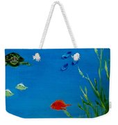 Turtle And Friends Weekender Tote Bag