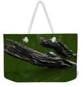 Turtle Art Weekender Tote Bag