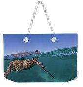 Turtle Breath Weekender Tote Bag