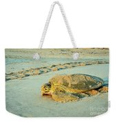 Turtle Day Weekender Tote Bag