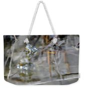 Turtle Eye Reflection Weekender Tote Bag