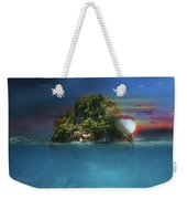 Turtle Island Weekender Tote Bag
