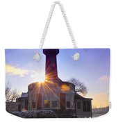 Turtle Rock Light House At Sunrise Weekender Tote Bag