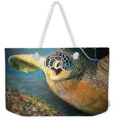 Turtle Run Weekender Tote Bag