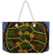 Turtle Shell Mandala Sparkle Weekender Tote Bag