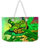 Turtle-totter Weekender Tote Bag