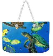Turtle Towne Weekender Tote Bag