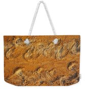 Turtle Tracks Weekender Tote Bag