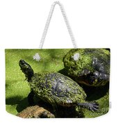 Turtle Yoga Weekender Tote Bag