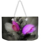 Turtlehead Flower Weekender Tote Bag