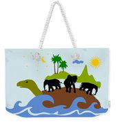 Turtles All The Way Down Weekender Tote Bag