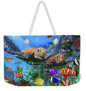 Turtles Of The Deep Weekender Tote Bag