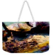 Turtles On A Log Weekender Tote Bag
