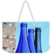 Tuscan Blue Reflections Weekender Tote Bag