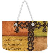 Tuscan Cross Weekender Tote Bag by Debbie DeWitt