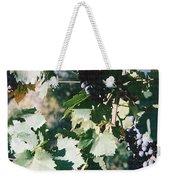 Tuscan Grapes Photograph Weekender Tote Bag