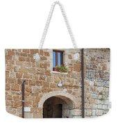 Tuscan Old Stone Building Weekender Tote Bag