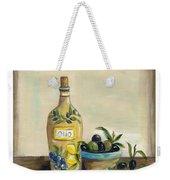 Tuscan Olive Oil  Weekender Tote Bag
