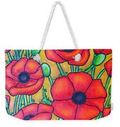 Tuscan Poppies - Crop 1 Weekender Tote Bag
