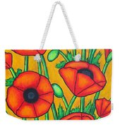 Tuscan Poppies Weekender Tote Bag
